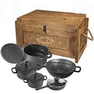 سرویس 9 پارچه Dio نالینو به همراه جعبه چوبی