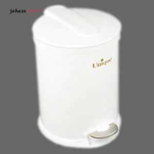 سطل زباله 16لیتر سفید یونیک UN-4130