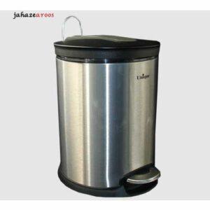 سطل زباله 16لیتر استیل یونیک UN-4430