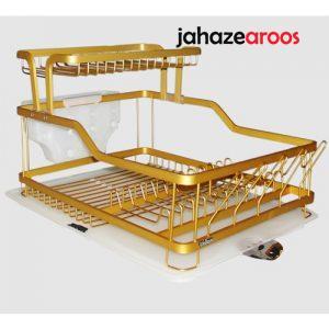 آبچکان دو طبقه آلومینیوم طلایی یونیک UN-2655
